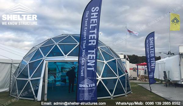 Portable Dome Shelters : Portable pc dome shelter for sale event tent