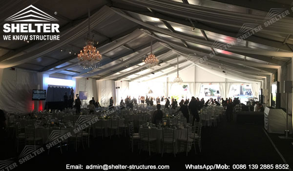 Gala Marquee for Sale - 20m Span Event Tent for Corporate Event Business Banquet Gala - Shelter Tent (2)