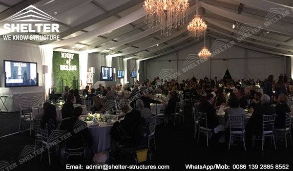Gala Marquee for Sale - 20m Span Event Tent for Corporate Event Business Banquet Gala - Shelter Tent (4)