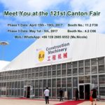 121st Canton Fair - Shelter Tent
