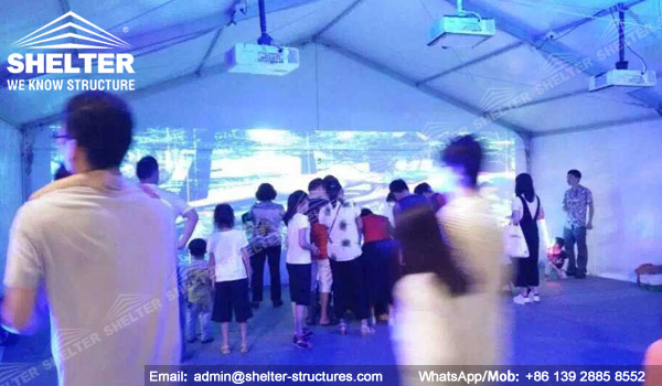 SHELTER Small Tent - Event in A Tent - Wedding Marquee - lounge Tent - Party Marquees for Sale (1)