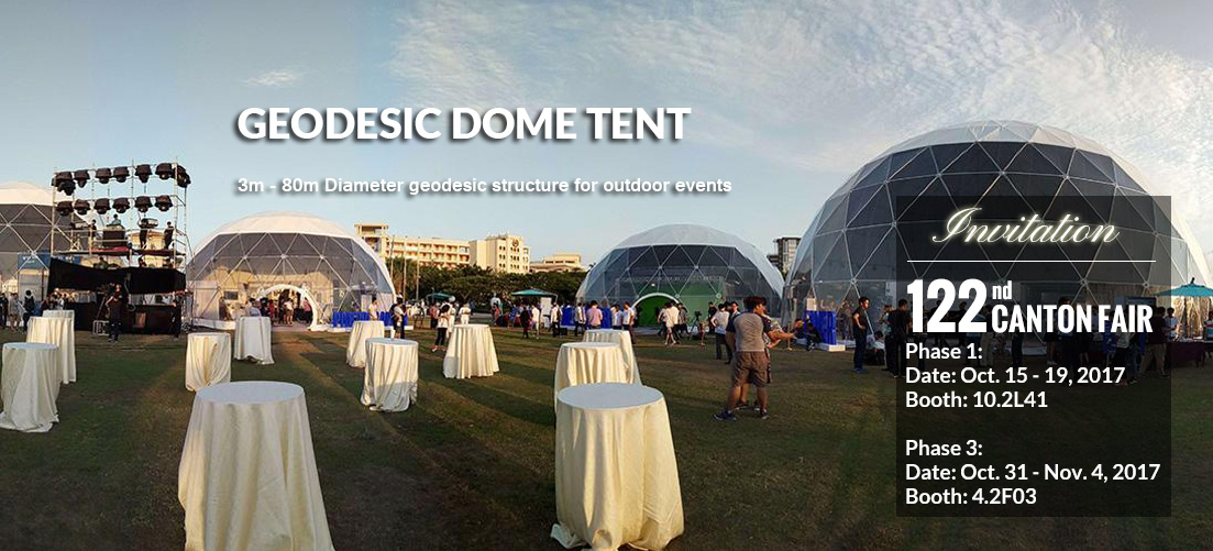 Geodesic Dome Tent - Geodesic Structure for Outdoor Events - Shelter Africa - Shelter Tent