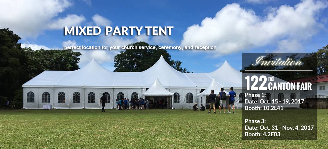 Mixed Party Tent Sale - Shelter Africa - Shelter Tent