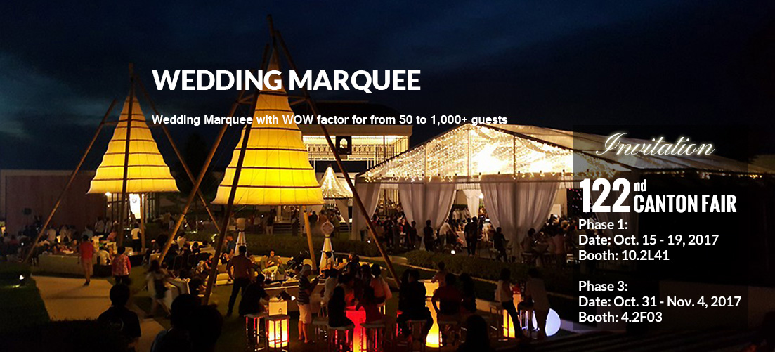 Wedding Marquee - Wedding Tent for Sale - Shelter Africa - Shelter Tent