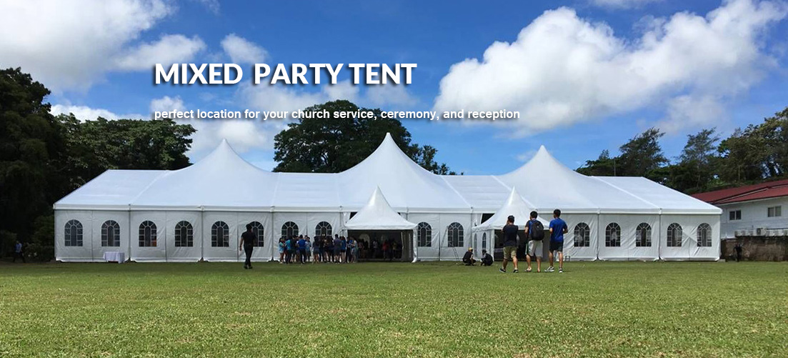 Mixed Party Tent Sale - Shelter Africa - Shelter Tent - 1