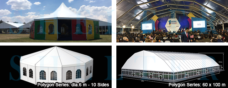 Event Tent - Polygon Structure Design - Shelter Africa