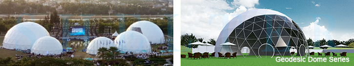 Geodesic Dome as Event Tent - Shelter Africa