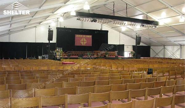 SHELTER Church Tent - Tents Manufacturer - Conference Hall - Large Tent - Wedding Tent - Wedding Marquee - Party Tent For Sale (7)