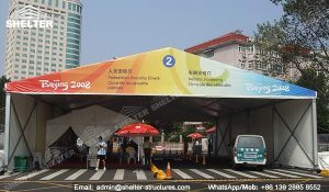 SHELTER Event Tent - Commercial Marquees - Reception Hall - Temporary Lounge Tent 2008 Beijing Olympic Games-4