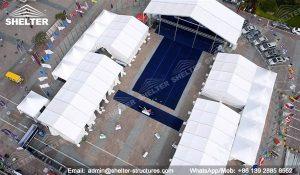 SHELTER Event Tent - Commercial Marquees - Reception Hall - Temporary Lounge Tent -44