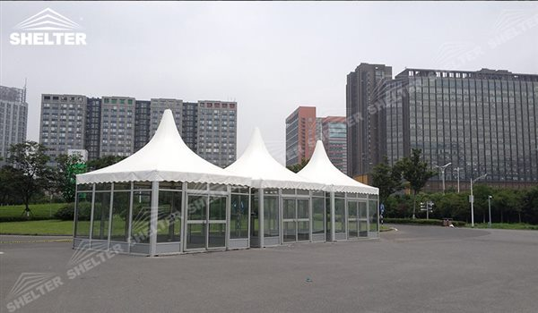 SHELTER Pagoda Tent - Top Marquee - Chinese Hat Tents - Pinnacle Tent - Pinnacle Marquees - 15