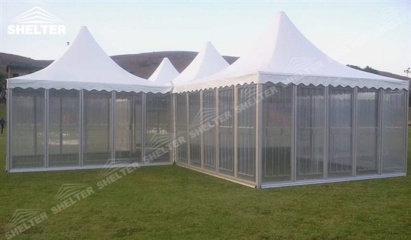 SHELTER Pagoda Tent - Top Marquee - Chinese Hat Tents - Pinnacle Tent - Pinnacle Marquees -16