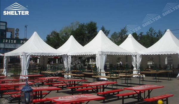 SHELTER Pagoda Tent - Pagoda Tents For Sale - Top Marquee - Chinese Hat Tents - Pinnacle Marquees -18