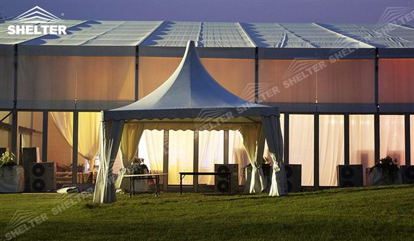 SHELTER Pagoda Tent - Pagoda Tents - Top Marquee - Chinese Hat Tents - Pinnacle Marquees -2