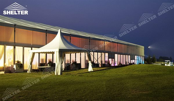 SHELTER Pagoda Tent - Pagoda Tents - Top Marquee - Chinese Hat Tents - Pinnacle Marquees - 3