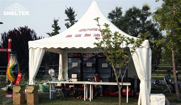 SHELTER Pagoda Tent - Pinnacle Tents - Top Marquee - Chinese Hat Tents - Pinnacle Marquees - 6