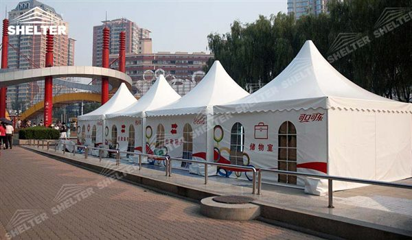 SHELTER Pagoda Tent - Pinnacle Tents - Top Marquee - Chinese Hat Tents - Pinnacle Marquees - 7