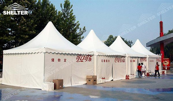SHELTER Pagoda Tent - Pinnacle Tents - Top Marquee - Chinese Hat Tents - Pinnacle Marquees - 8