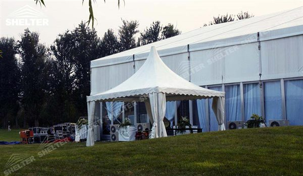 SHELTER Pagoda Tent - Pagoda Tents - Top Marquee - Chinese Hat Tents - Pinnacle Marquees - 9