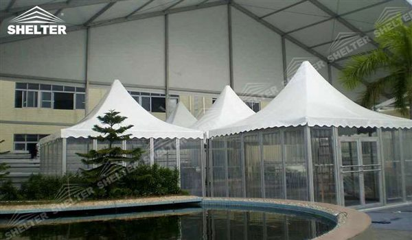SHELTER Pagoda Tent - Top Marquee - Chinese Hat Tents - Pinnacle Tent - Pinnacle Marquees -1