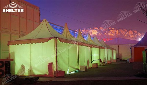 SHELTER Pagoda Tent - Top Marquee - Chinese Hat Tents - Pinnacle Tent - Pinnacle Marquees - 13