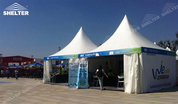 SHELTER Canopy Tent - Large Canopy Tent - Gazebo Tents - High Peak Marquee - Top Marquees - 27