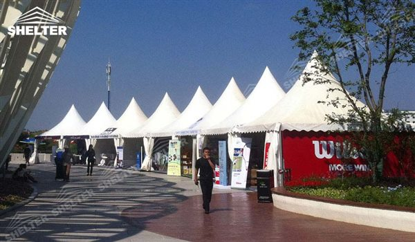 SHELTER Canopy Tent - Large Canopy Tent - Gazebo Tents - High Peak Marquee - Top Marquees - 28