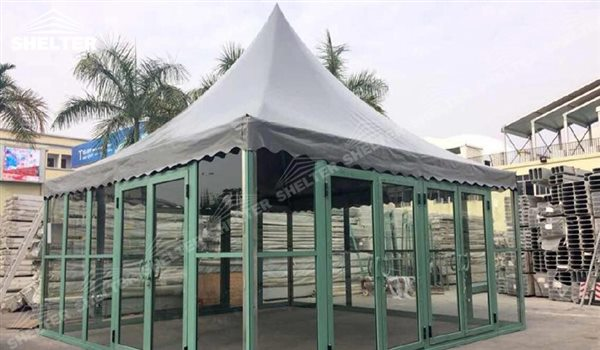 SHELTER Canopy Tent - Gazebo Tents - High Peak Marquee - Top Marquees -32