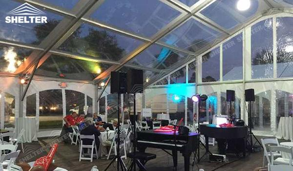 SHELTER Luxury Wedding Marquee - Wedding Tent - Large Weddings Tent - Party Marquees for Sale -12