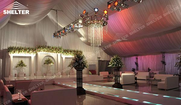 SHELTER Luxury Wedding Marquee - 20x40 Party Tent - Large Weddings Tent - Party Marquees for Sale - (11)