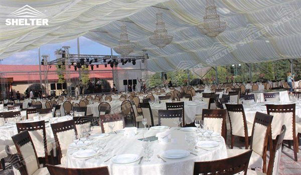 SHELTER Luxury Wedding Marquee - Transparent Tent - Large Weddings Tent - Party Marquees for Sale - 135