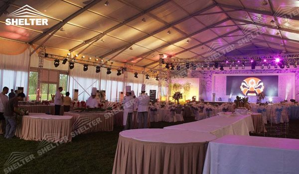 SHELTER Luxury Wedding Marquee - Large Weddings Tent - Party Marquees for Sale - Party Canopies - 155