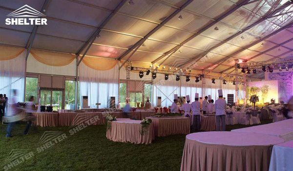 SHELTER Luxury Wedding Marquee - Large Weddings Tent - Party Marquees for Sale - Party Canopies - 156