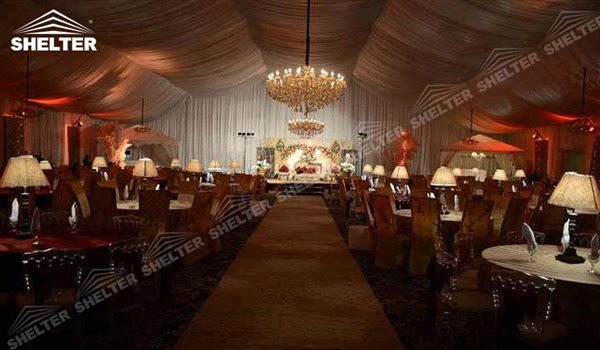SHELTER Luxury Wedding Marquee - 20x40 Party Tent - Large Weddings Tent - Party Marquees for Sale - 161