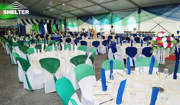 SHELTER Luxury Wedding Marquee - Tent For Party - Large Weddings Tent - Party Marquees for Sale - (17)