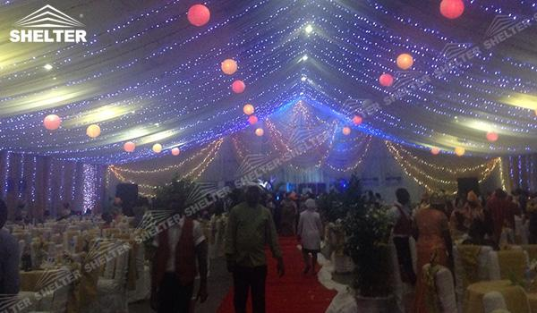 SHELTER Luxury Wedding Marquee - Tent For Party - Large Weddings Tent - Party Marquees for Sale - (18)