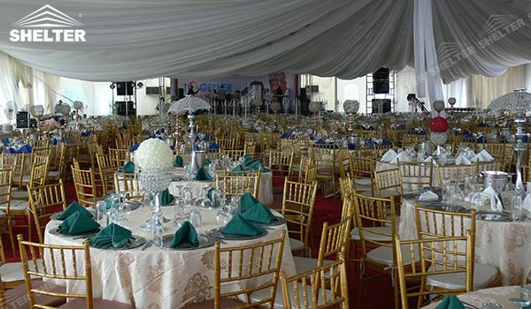 SHELTER Luxury Wedding Marquee - Tent For Party - Large Weddings Tent - Party Marquees for Sale - (19)