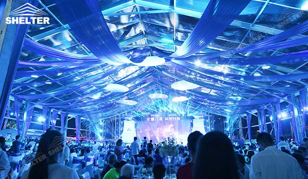 SHELTER Luxury Wedding Marquee - Large Weddings Tent - Party Marquees for Sale - Clear Top Tents- (6)