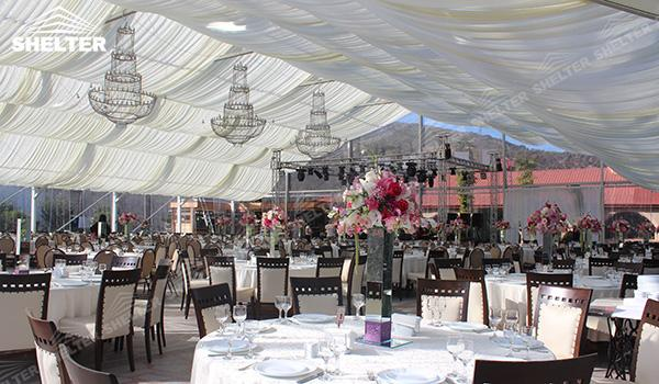 SHELTER Luxury Wedding Marquee - Large Weddings Tent - Party Marquees for Sale - Clear Wedding Tent- (8)
