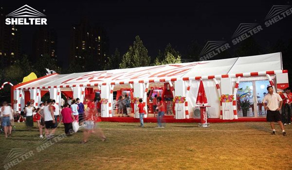 SHELTER Small Tent - 10x30m Party Tent Wedding Marquee - Tents For Wedding - Lounge Tent - Party Marquees for Sale -18