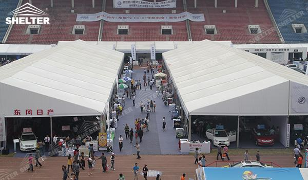 SHELTER Event Tent - Large Event Tent - Commercial Marquee - Exhibition Hall - Aluminum Clear Span Structures - Large Fair Marquee for Sale - 20