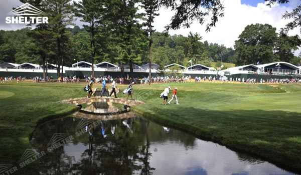 Hospitality Tent - Large Event Tents - Sport Structures - Golf lounge Tent for 2015 PGA Tour - Shelter Tent-6
