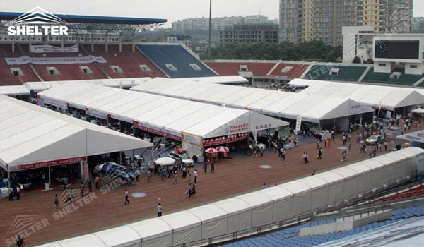 SHELTER Event Tent - Car Show - Commercial Marquee - Exhibition Hall - Aluminum Clear Span Structures - Large Fair Marquee for Sale -24