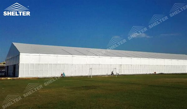 SHELTER Large Warehouse Tent - Temporary Storage Tents - Clear Span Building for Sale -12