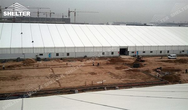 SHELTER Large Warehouse Tent - Temporary Warehouse Buildings - Temporary Storage Tents - Clear Span Building for Sale -15