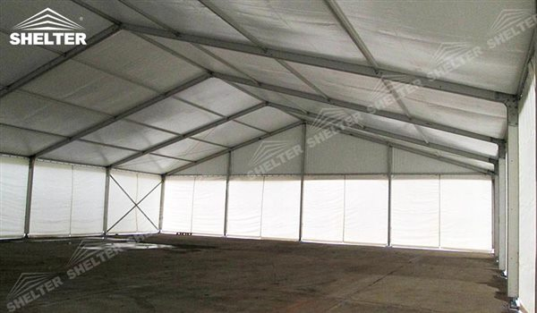 SHELTER Large Warehouse Tent - Outdoor Storage Tents - Temporary Storage Tents - Clear Span Building for Sale - 33