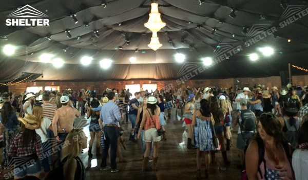 SHELTER Mixed Party Tent - Luxury Wedding Marquee - Party Marquee - Oval Tent - High Peak Tents - Bellend Tent - Yuma Tent for Sale -12