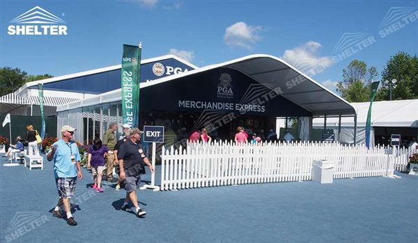 Hospitality Tent - Arch Tent - Arcum Tents - Clear Span Tent - Commercial Marquee - Shelter Event Marquees for Sale (54353