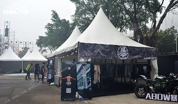 SHELTER Canopy Tent - Gazebo Tents - High Peak Marquee - High Peak Tent - Top Marquees - (4)