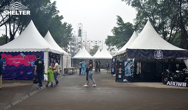 SHELTER Canopy Tent - Gazebo Tents - High Peak Marquee - High Peak Tent - Top Marquees - (5)